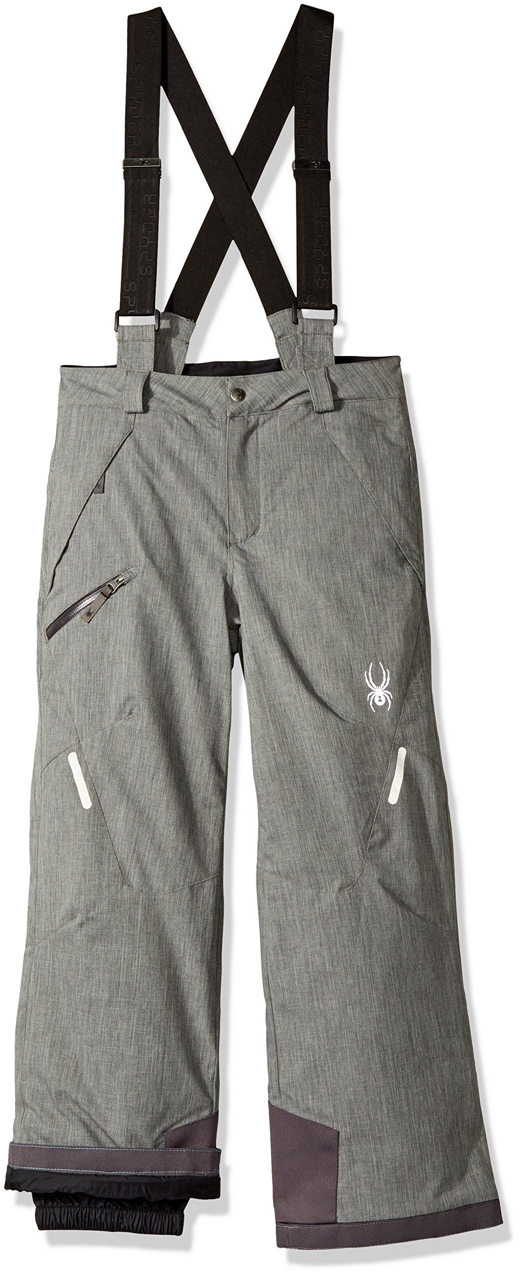 Spyder Boy's Propulsion Ski Pant, Polar Herringbone, Size 18