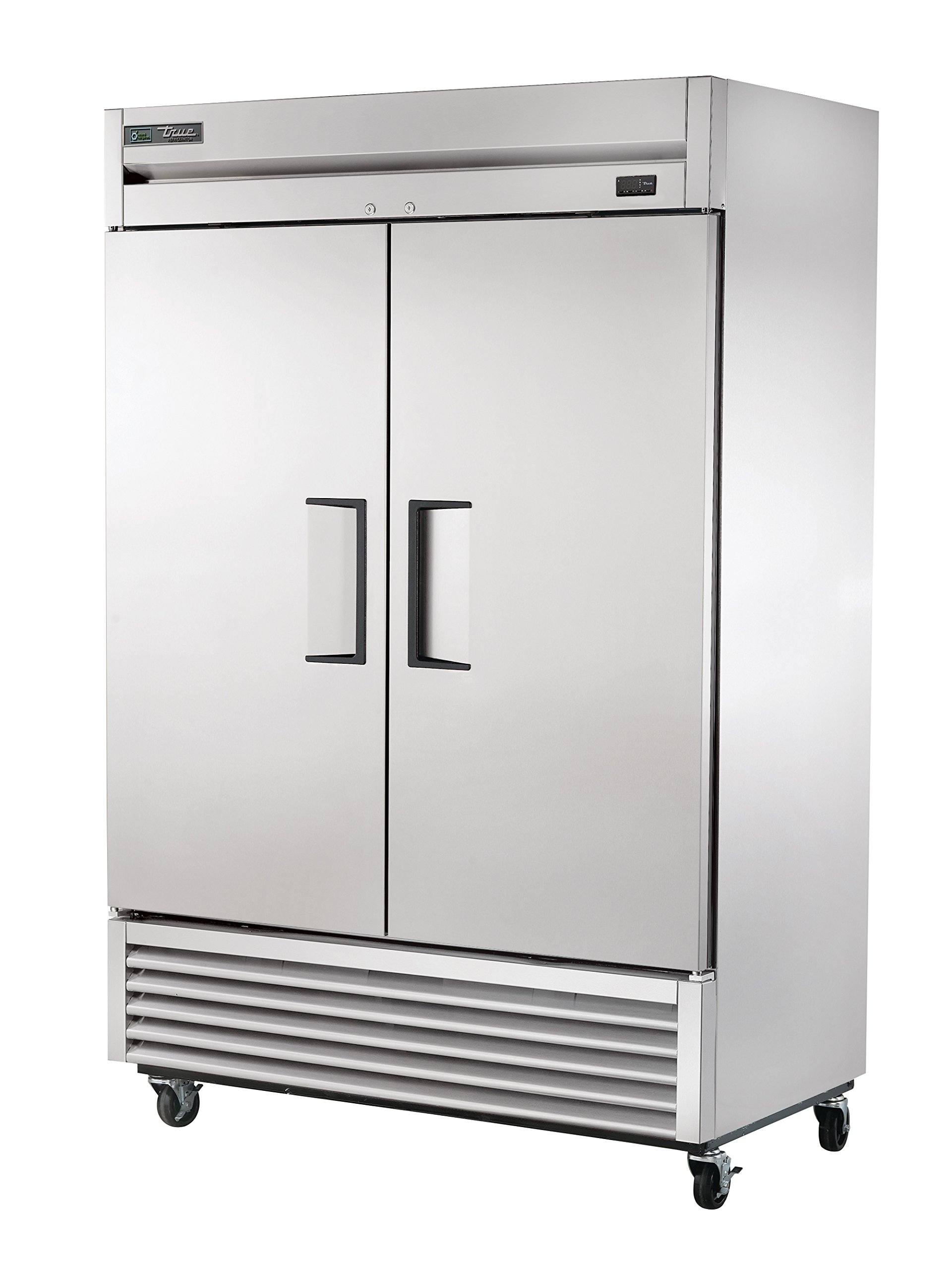 True T-49-HC Reach-in Solid Swing Door Refrigerator with Hydrocarbon Refrigerant, Holds 33 Degree F to 38 Degree F, 78.625'' Height, 29.875'' Width, 54.125'' Length by True Decor