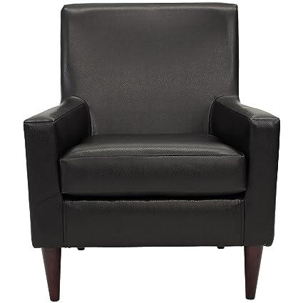 Astonishing Parker Lane Uch Fdc Emma Arm Chair Leatherette Black Ibusinesslaw Wood Chair Design Ideas Ibusinesslaworg