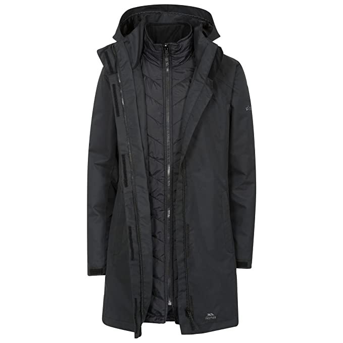 search for original elegant shoes fashionable and attractive package Trespass Alissa II Womens Waterproof 3 in 1 Jacket with Hood