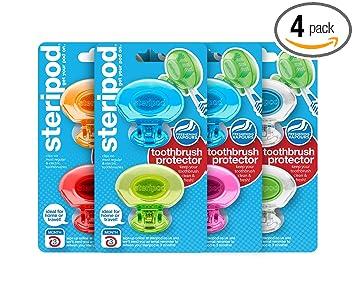 Amazon.com: Protector de cepillo de dientes, Steripod clip ...