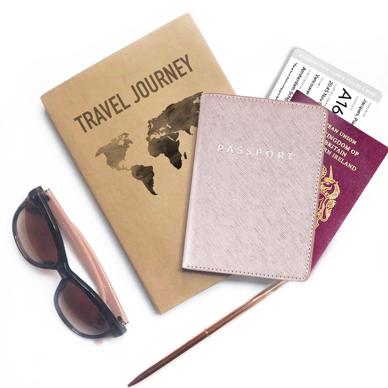 Marble Print Passport Case Travel Wallet Leminimo Leather Marble Passport Cover Passport Holder With RFID Blocking