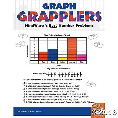 MindWare Math Mosaics: Graph Grapplers: Toys & Games