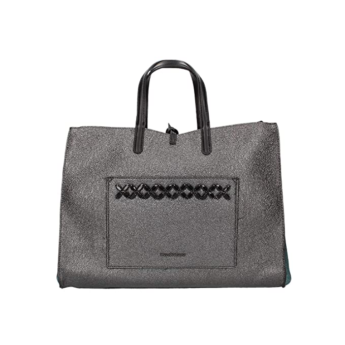 3468a566c5 Roccobarocco Robs2o602 Borsa A Mano Donna Grigio TU: Amazon.it:  Abbigliamento