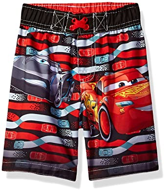 d294672dc775f Amazon.com: Disney Cars Boys Swim Trunks Swimwear (Baby/Toddler): Clothing