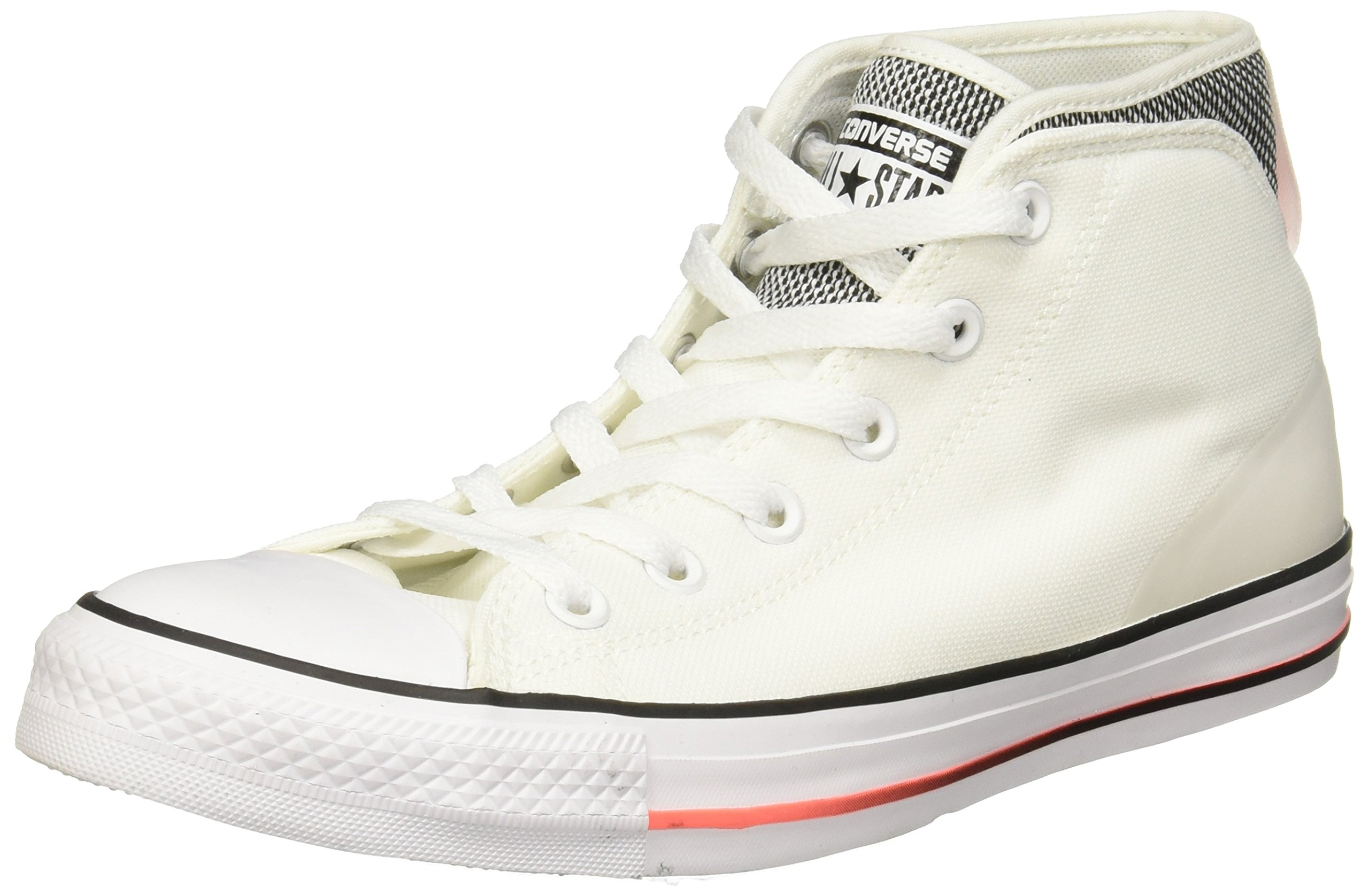 03dc3f4a0ab5c2 Galleon - Converse Unisex Chuck Taylor All Star Syde Street Mid White  Sneaker - 9 Men - 11 Women