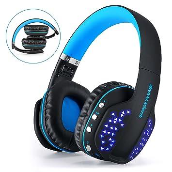 Juego de Auriculares Bluetooth,Beexcellent Glow Auriculares Bluetooth con Micrófono para PS4 / Xbox One