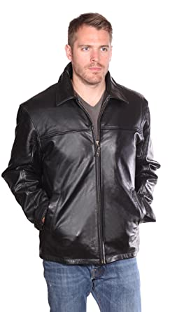 Nuborn Leather Men S Cowhide Jacket With Thinuslate At Amazon Men S