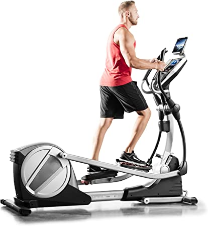 side facing proform 895 cse elliptical