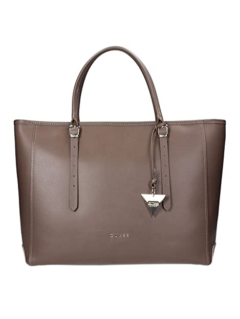 Borsa Donna in Pelle Guess Luxe Mod. LADY LUXE CARRYALL BAG HWLADYL4424  Col. Taupe.  Amazon.it  Scarpe e borse 1c16e501404