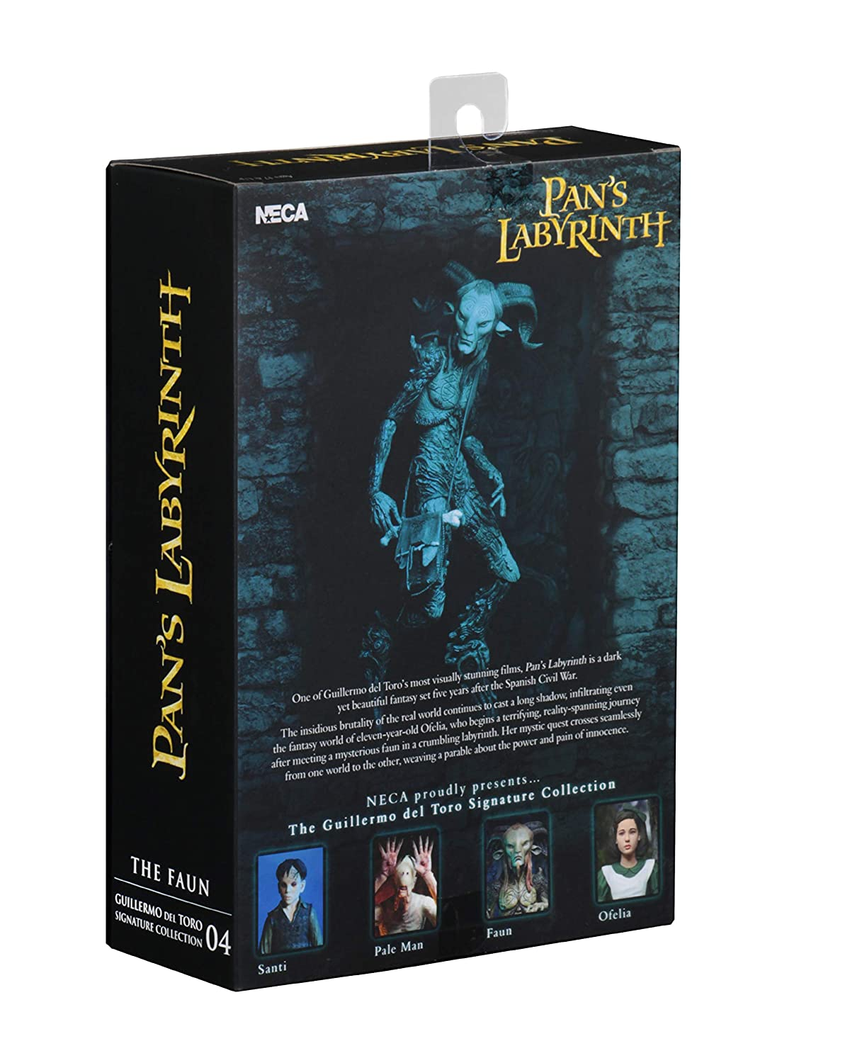 Pans Labyrinth Faun 7 Scale Action Figure NECA Guillermo Del Toro Signature Collection