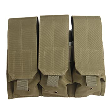 Tactical Molle cinturón Clip Ar M4 5.56/.223 Triple revista ...