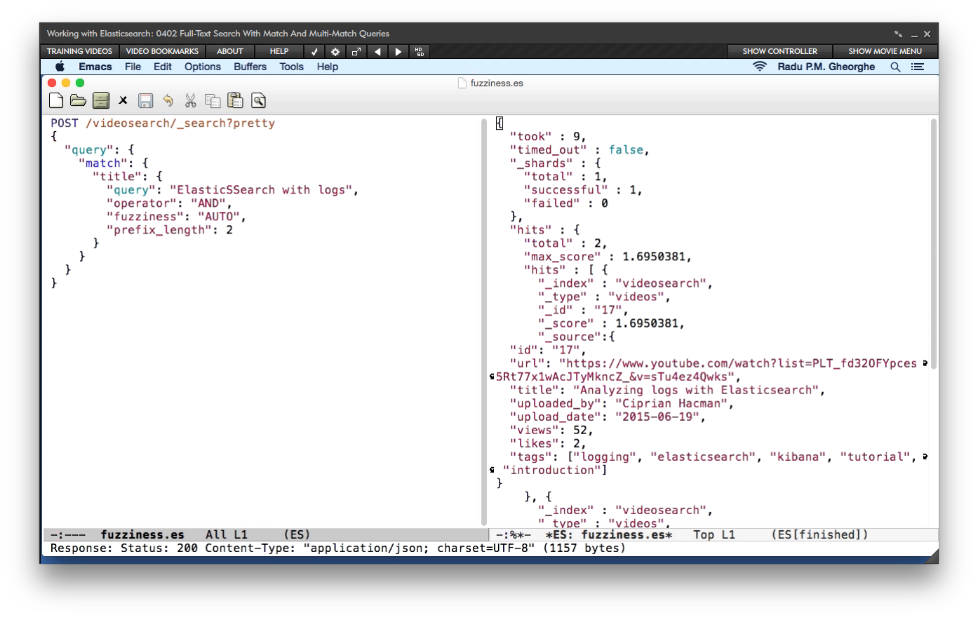 Amazon com: Working with Elasticsearch [Online Code]: Software