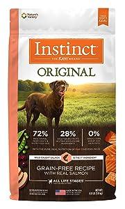 Instinct Original Grain-Free Dry Dog Food - Real Salmon Recipe