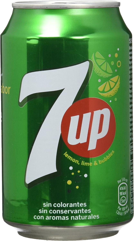 Seven Up Refresco Lima-Limón - Paquete de 8 x 330 ml - Total: 2640 ml
