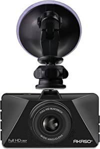 Navitech Dash Camera Adjustable Rotating Suxction Cup Mount Compatible with The AKASO Dash Cam FHD 1080P 3 Inch