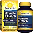 Renew Life - Ultimate Flora Probiotic Extra Care - 50 billion - daily digestive and immune health supplement - 90 vegetable capsules
