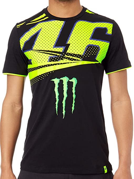 Valentino Rossi 2158 Vr46 Moto Gp Monster Energy Monza Rally T Shirt