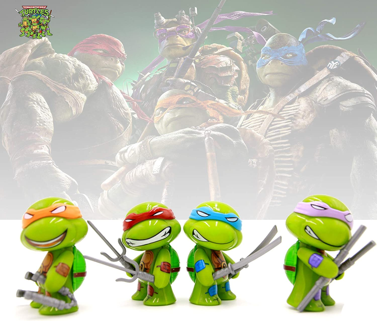 Amazon.com: YongEnShang Teenage Mutant Ninja Turtles Series ...