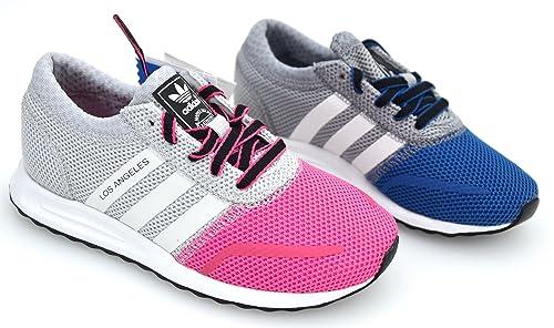 ADIDAS Zapatillas Deportivas para NIÑA Y NIÑO Art. S74878 - S74877 LOS Angeles K: Amazon.es: Zapatos y complementos