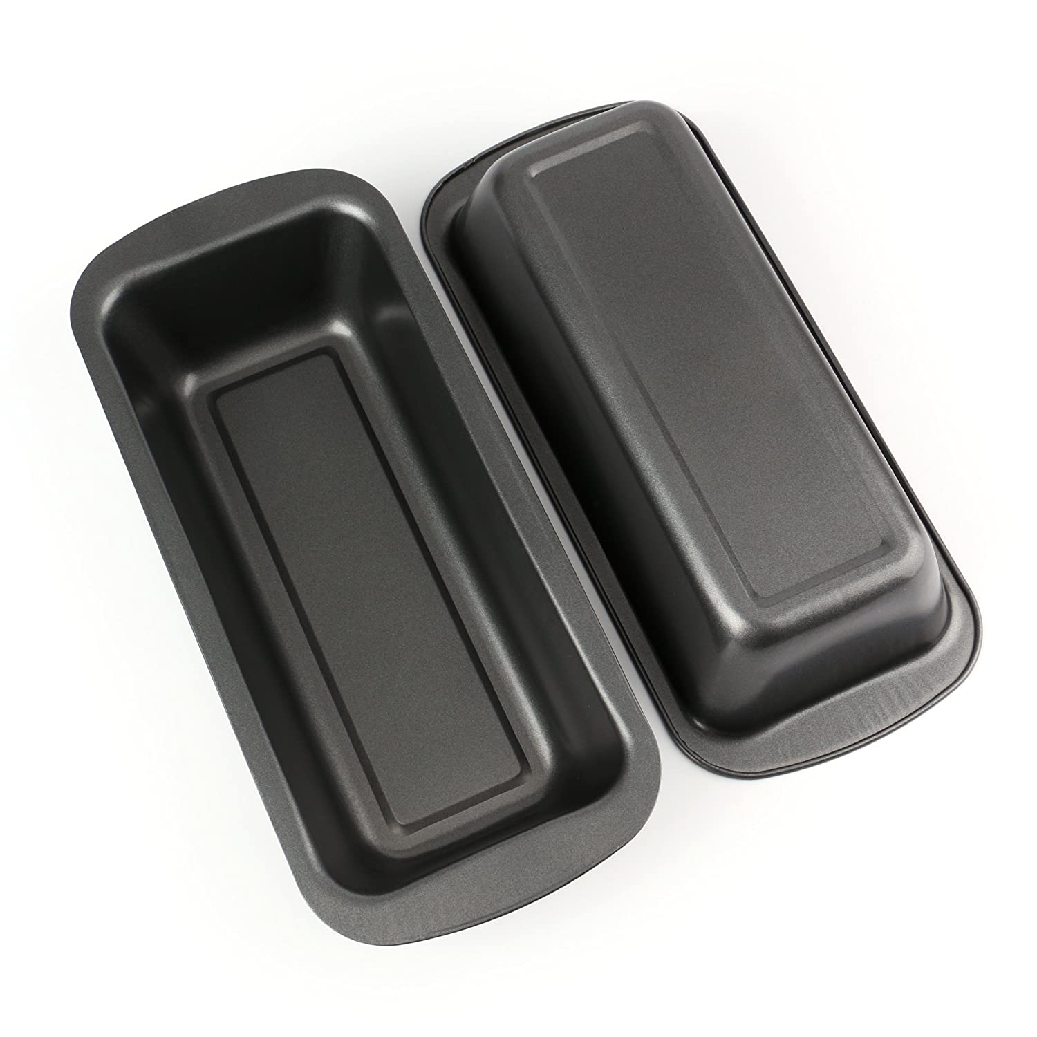 Tosnail Long Non-stick Loaf Pan Set, 2 Pack T-TSM2G