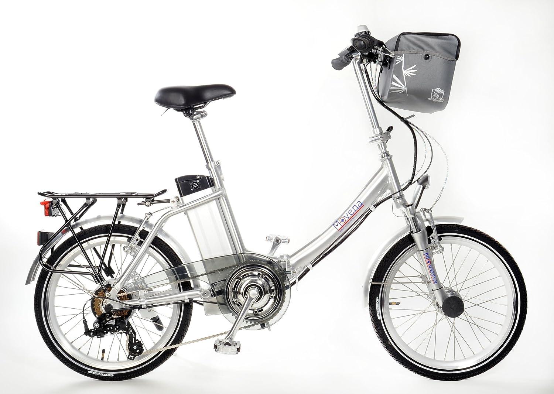 Certificado TÜV y bicicleta eléctrica - 36 V 15 Ah Batería, 20 pulgadas Pedelec de bicicleta plegable UVP: 2595,00 Euro, color plata: 36 V 15 Ah Batería ...