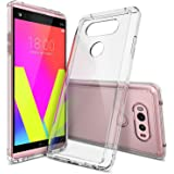Ringke [Fusion] Compatible with LG V20 Case Clear PC Back TPU Bumper [Drop Protection, Shock Absorption Technology] Raised Bezels Protective Cover for LG V 20 2016 - Clear