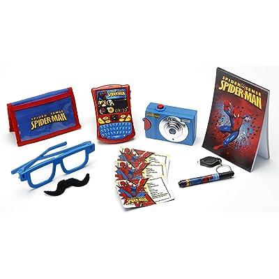 LEXIBOOK RPS014 - Jeu d'Imitation - Coffret de Détective - Spiderman