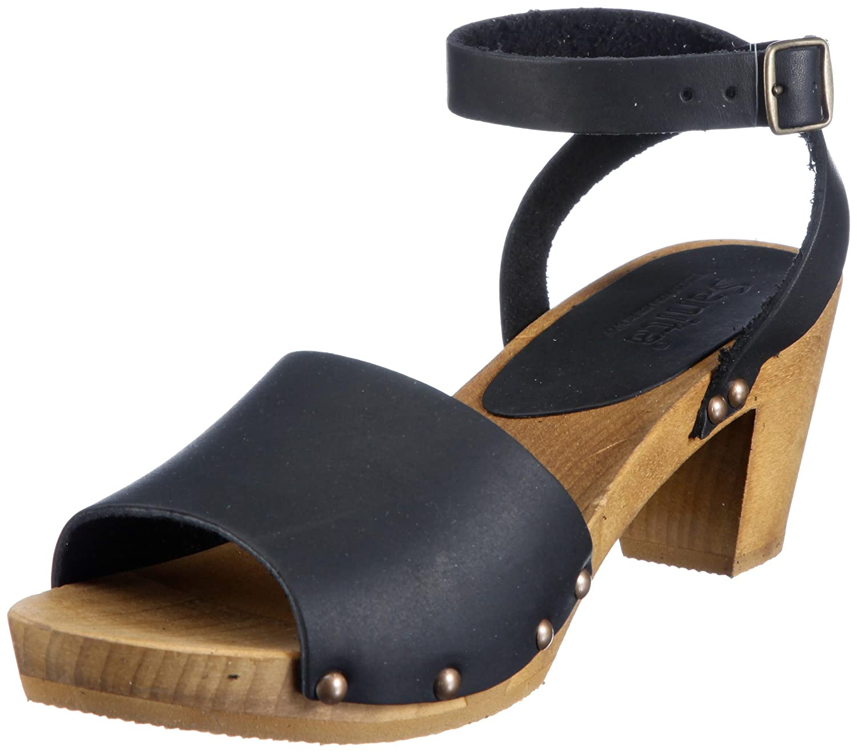 Sanita Wood-Yara Flex Sandal Flex Noir 457357-2, 457357-2, Sandales femme Noir (Noir-tr-b2-264) 589e792 - boatplans.space