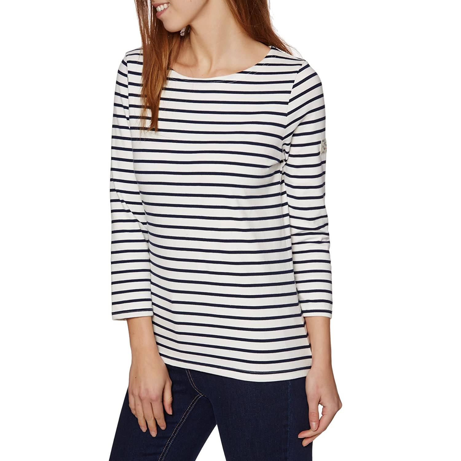 Joules Womens/Ladies Harbour Relaxed Classic Breton-Style Jersey Top