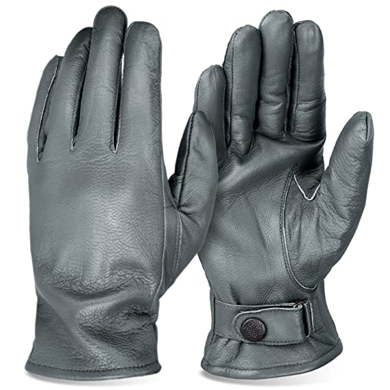 a6d9c294bdf68b BW Handschuhe für Damen und Herren Lederhandschuhe gefüttert BlackSnake®:  Amazon.de: Bekleidung