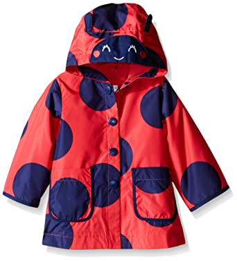 8a8890f7b4c7 Amazon.com  Carter s Baby Girls Printed Jersey Lined Rain Slicker ...