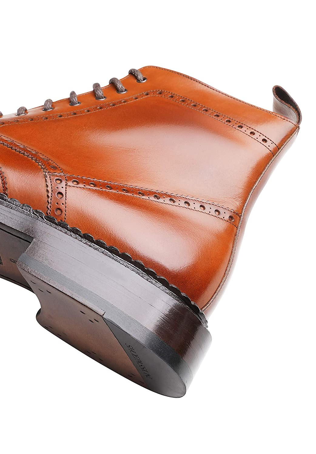 6831 Boots SHOEPASSION No This Mens Shoe is a Particularly Robust and Modern Model Thanks to its Triple welt and The Silky Gloss of its Upper Leather.