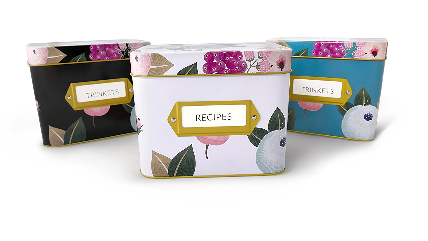 Recipe Box by Polite Society (3 Color Pack)