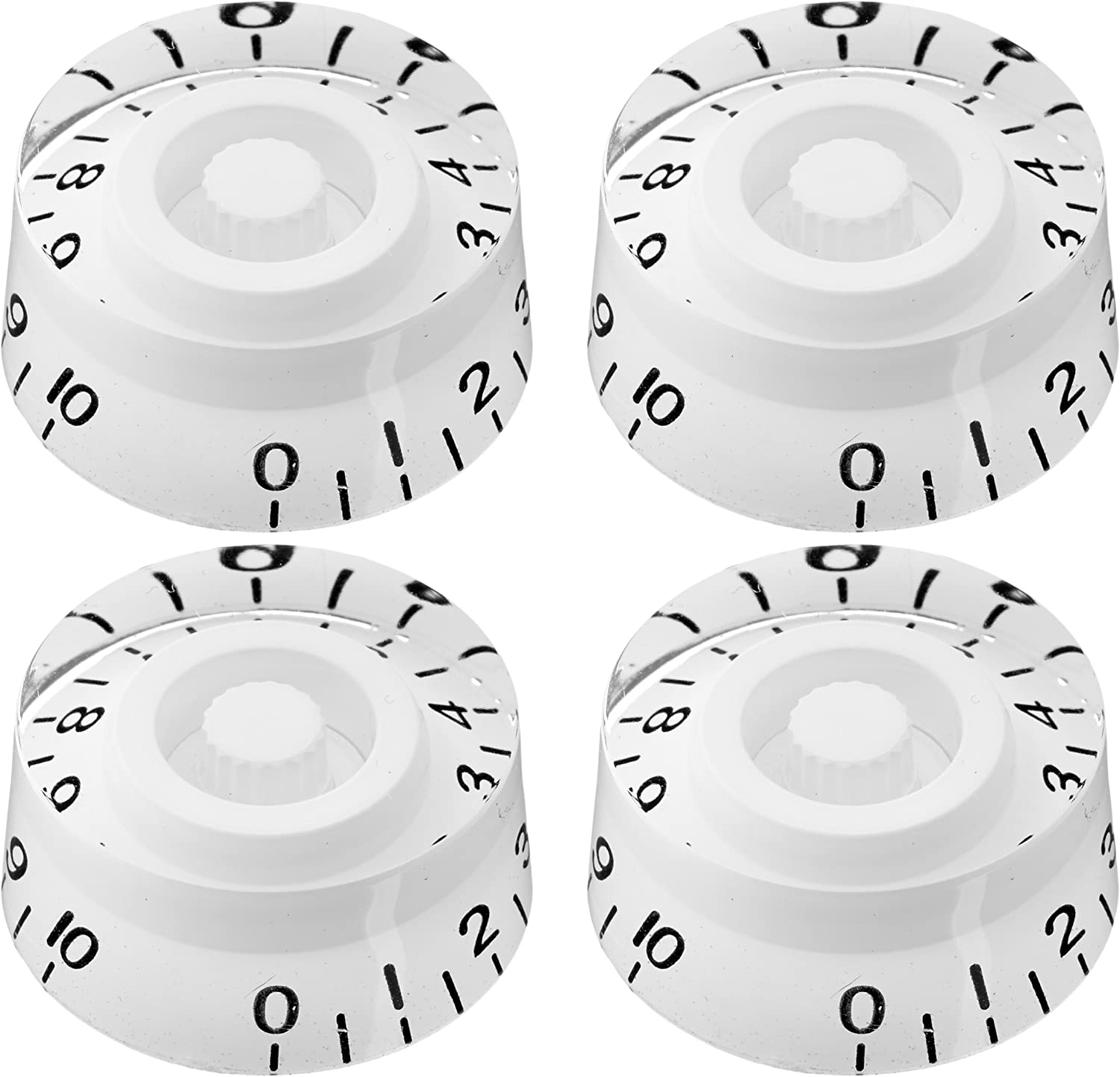 4pcs SG-335 Speed Control Knobs White for Gibson Les Paul Replacement Electric Guitar Parts
