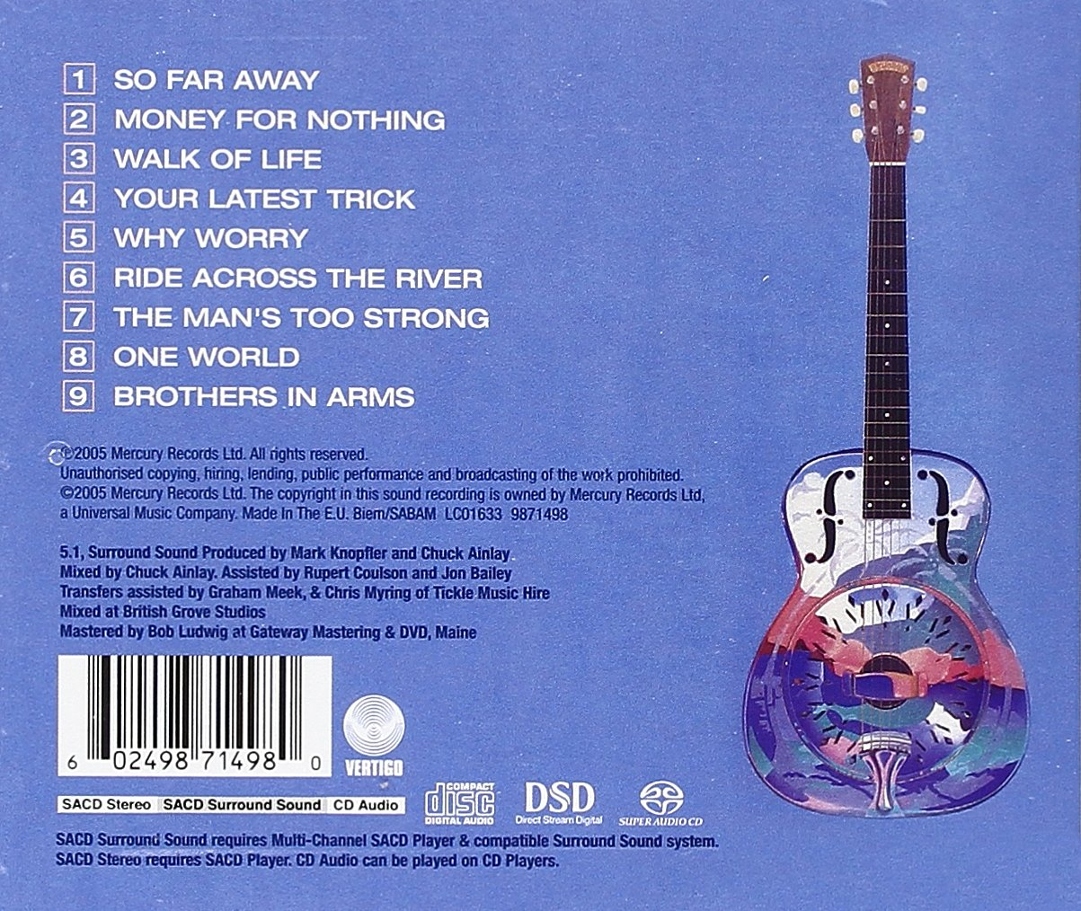 Dire Straits Brothers in Arms by CD