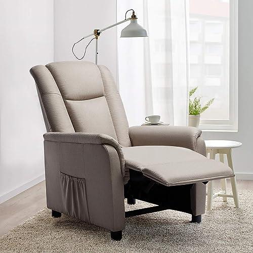 Editors' Choice: VITESSE Modern Fabric Recliner Chair