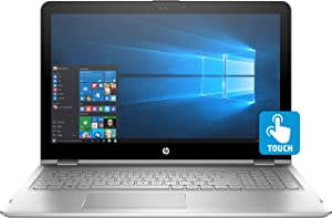 HP Envy 15.6 X360 2-in-1 Convertible Full HD IPS Touchscreen Laptop| Intel Core i5-7200U | 8GB RAM | 256GB SSD | Backlit Keyboard | Bluetooth | HDMI | B&O Play | Windows 10 (Silver)