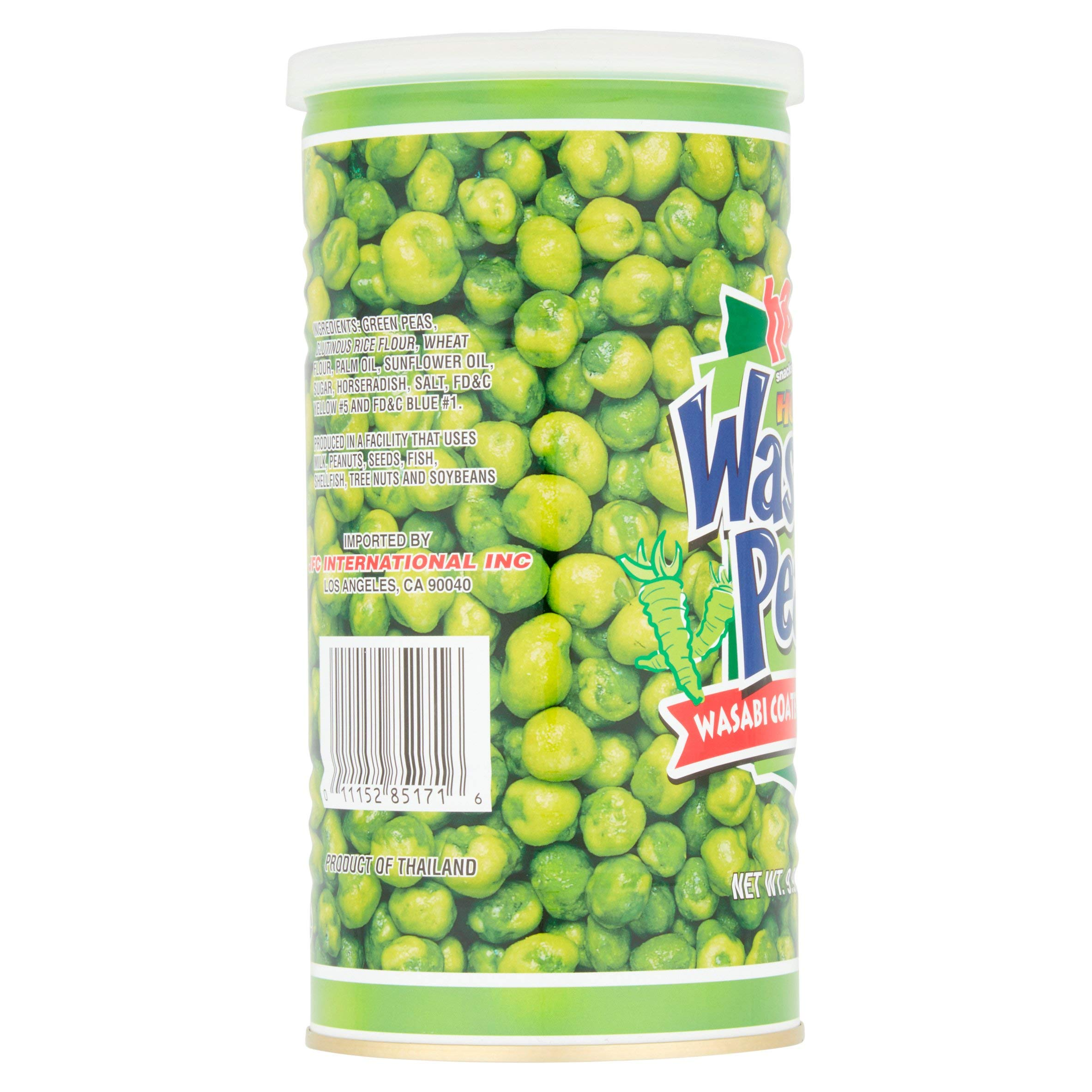 Hapi Snacks Hot Wasabi Peas 9.90oz - 3 Pack by HAPI (Image #3)
