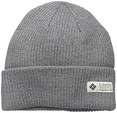 4ce31694d06 Columbia Men s Beanie (CU9302 Charcoal Heather One Size)  Amazon.in ...
