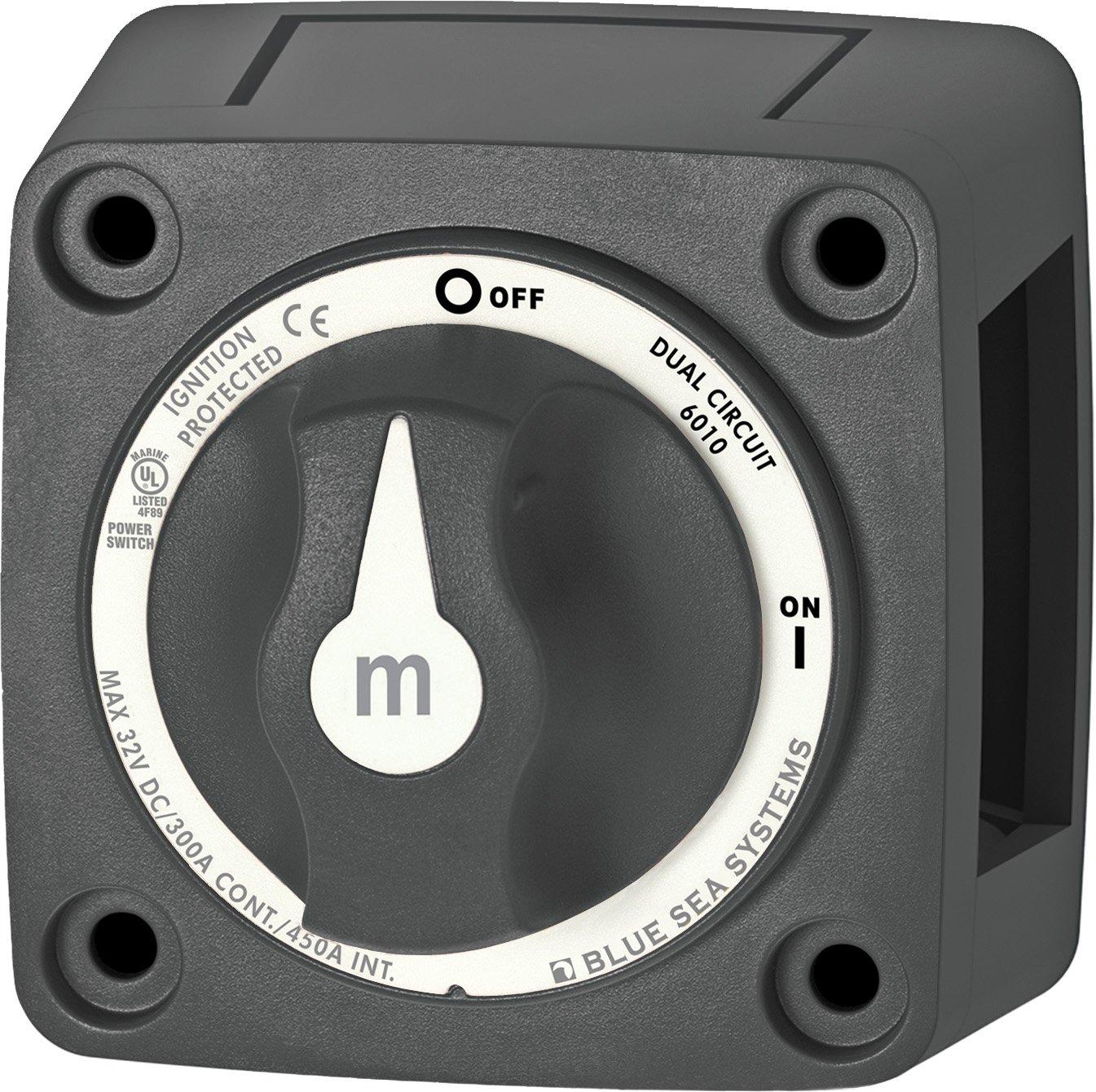 Amazon.com: Blue Sea Systems m-Series Mini Dual Circuit Battery ...