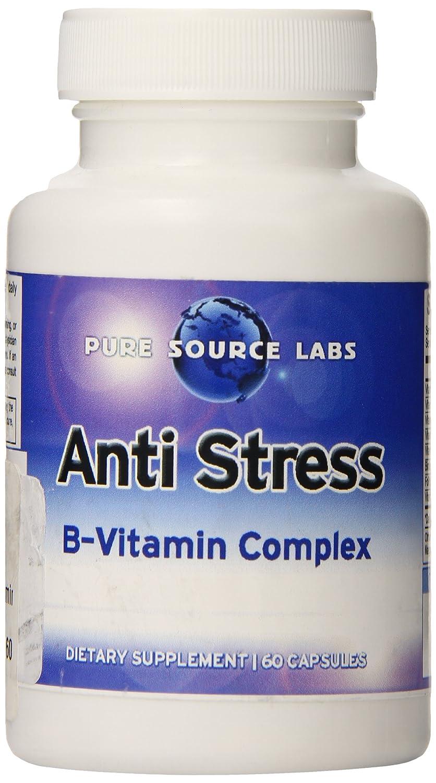 Amazon.com: Eden estanque Antiestrés Vitamina B Complejo ...