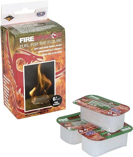 6 x 27gm Tablets BCB Adventure Fire Dragon Solid Fuel