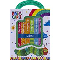 World of Eric Carle, My First Library Board Book Block 12-Book Set - First Words, Alphabet, Numbers, and More! - PI Kids