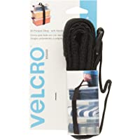 "Velcro Brand 90482 All Purpose Straps - 6' x 2"" All Purpose Strap w/Handle, 1 Ct, Black"