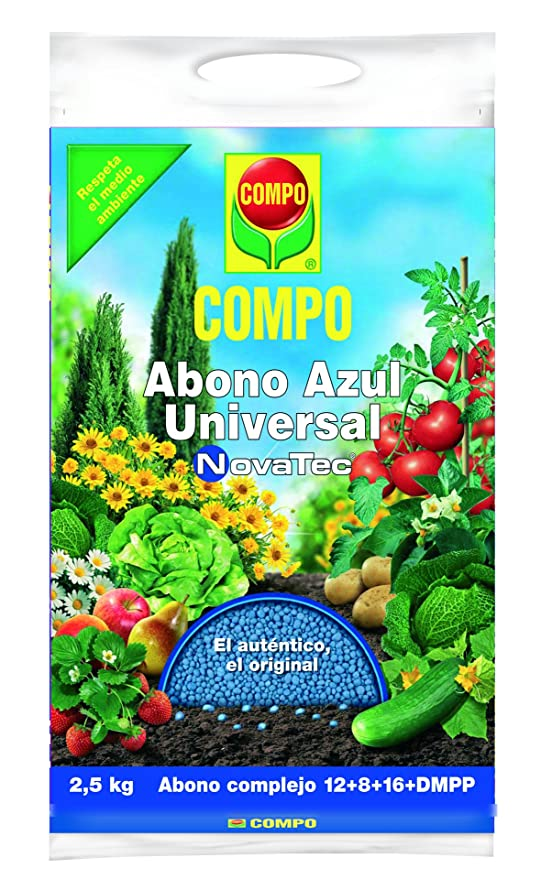 Compo 1418102011 - Abono Azul Universal Novatec DE 2.5 kg