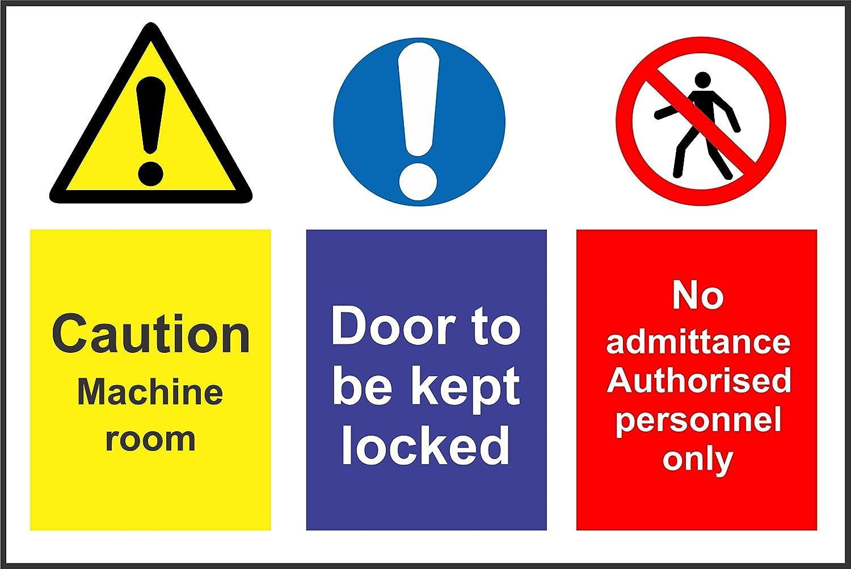 INDIGOS UG - Adhesivo - Seguridad - Advertencia - Aviso de ...