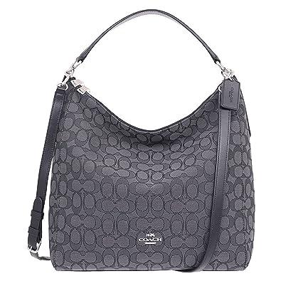 0af02dfb13 Amazon.com  Coach Outline Signature Celeste Hobo Shoulder Crossbody Bag  Purse Handbag  Clothing