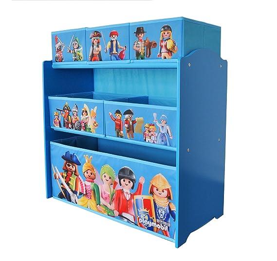 Playmobil - Estantería de almacenaje con 6 Puertas (Textiles, 064624: Amazon.es: Juguetes y juegos
