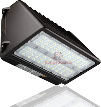 24 W LED Wall Pack Light - 2.400 Lumens- 5000K - Sustituye 150W - 100,000 Hour LED Wall - Dark Sky Compliant (Renewed): Amazon.es: Iluminación